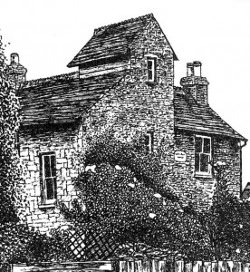 The Ferns - Pen & Ink Building/House Illustration - Dawn Monks