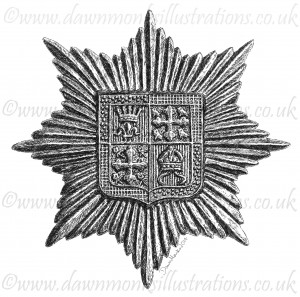 13th London Battalion (Kensingtons) Cap Badge