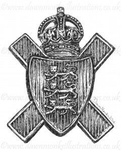 Royal Militia of Jersey - Cap Badge